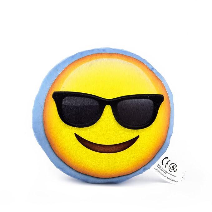 Mini Emoji Cojín, Emoticon Smiley, regalo, decoración Cojín ...