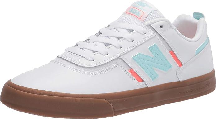 New Balance Numeric 306 Herren Sneakers Skateboardschuhe Weiß/Gummi