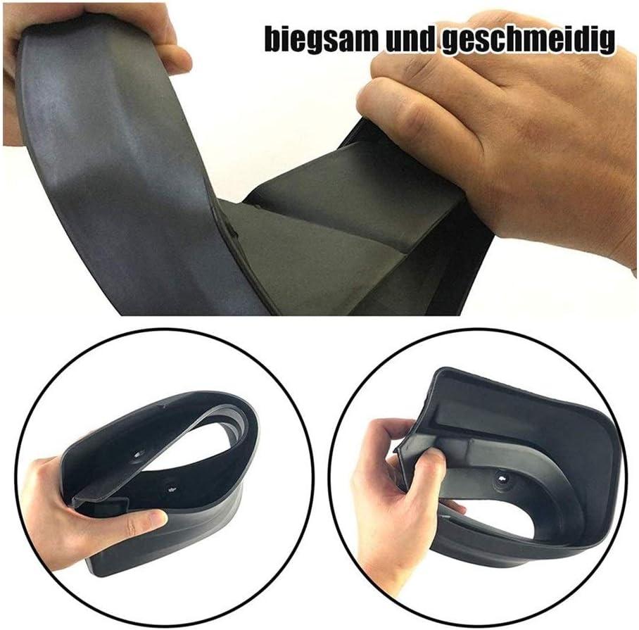 Schmutzf/änger For Mercedes Benz C-Klasse W205 2015~2019 Fender Schlammschutz Splash Flap Radsch/ützer Zubeh/ör 2016 2017 2018 C180 C250 C300 Size : Fit Standard Model