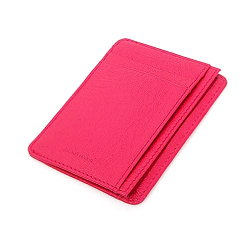 684ce55e4f8 Leather Mini Slim Wallet Women Useful Card Wallets Small Purse Business  Card Wallet