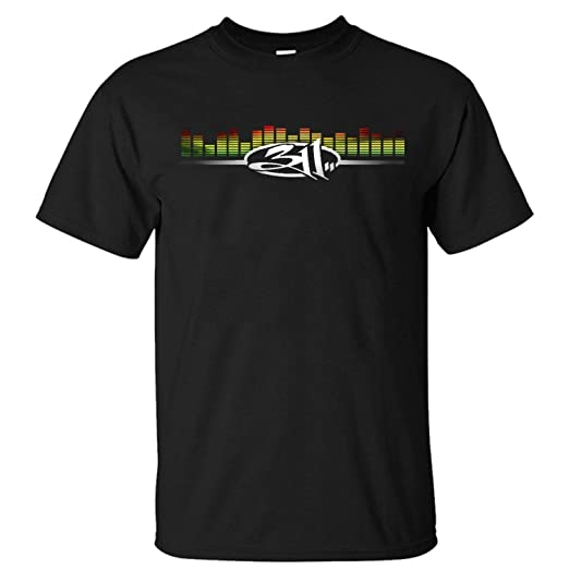 f2222aedcf05f Image Unavailable. Image not available for. Color  Shake Grass Funny Mens  311 Band Generic T-Shirt Custom ...