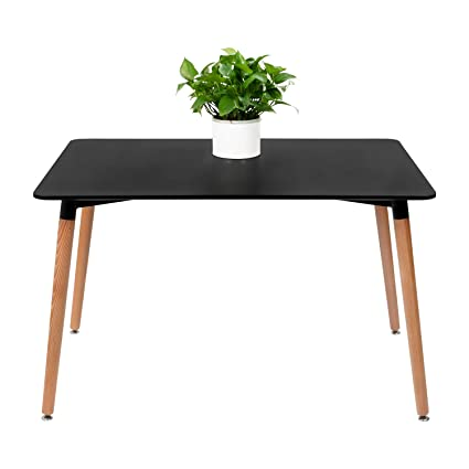 Amazon Com Furmax Kitchen Dining Table Modern Style Square Leisure