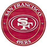 Wincraft NFL San Francisco 49Ers 56744011 Wood Sign, 19.75-Inch