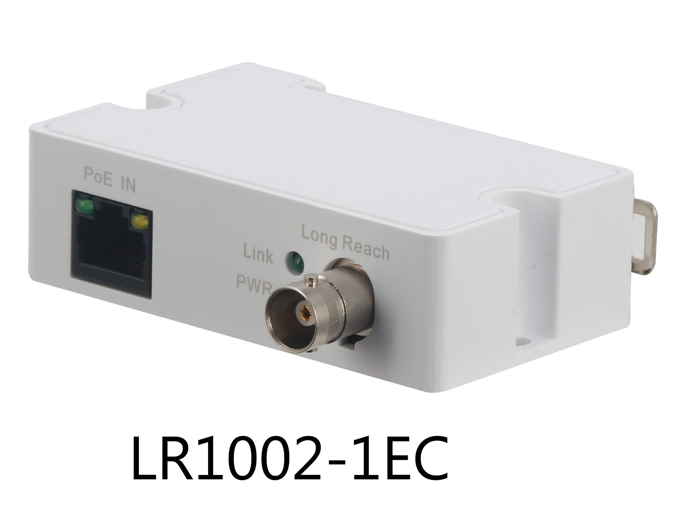 Dahua LR1002-1EC PoE IP Over Coax EoC Converter Single Port Long Reach Ethernet Over Coax Extender for CCTV IP Camera(Receiver Only) by LINOVISION