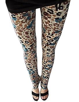 2289eaa219f Guiran Pantalones Mujer Largos Leggings Pantalones Leopardo Leggins Talle  Alto Leggings Casual Leopardo3 Un-Tamaño: Amazon.es: Deportes y aire libre