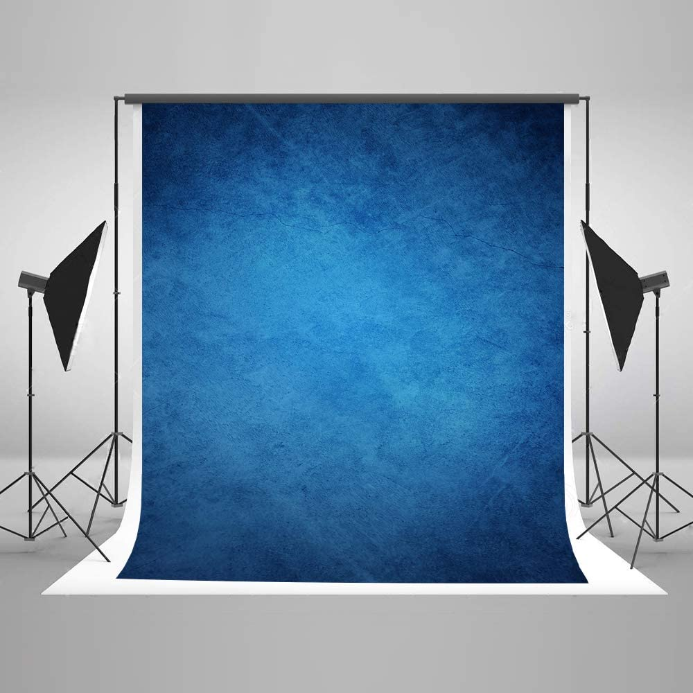 Portrait Noir Photographie Toile de Fond Abstrait Fond Noir pour Photographe Toile de Coton sans Soudure Toile de Fond Rides Gratuites Kate 5/×7ft 1.5/×2.2m