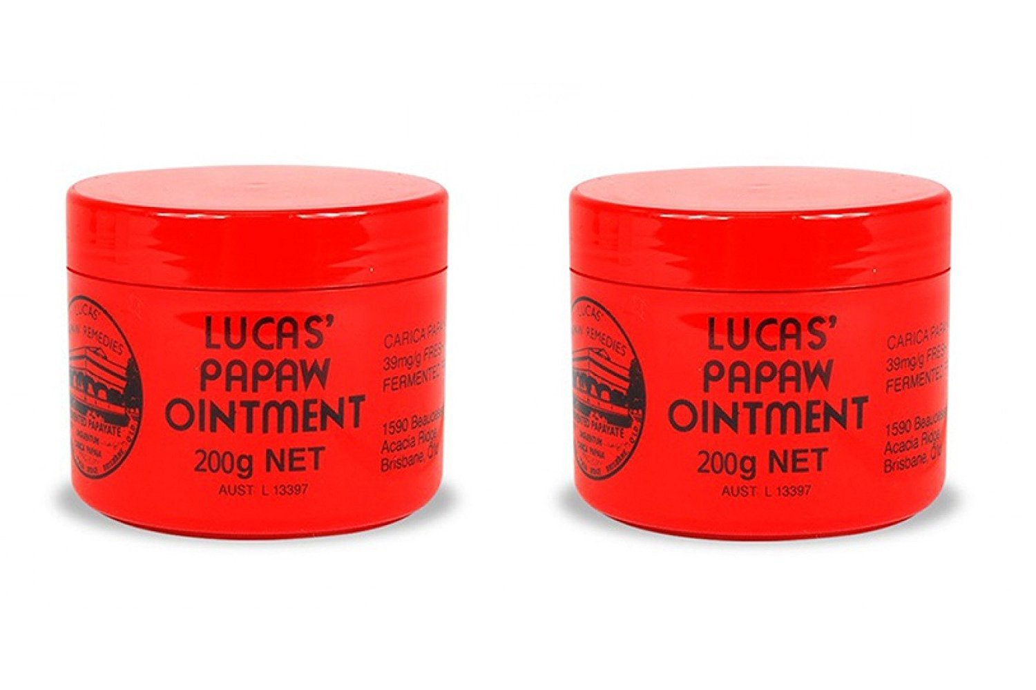 Lucas' Papaw Ointment 75g, 2 Pack x (6 Pack) (=Total 12 Pack)