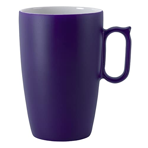 DEGRENNE - Coffret de 2 Mug Porcelaine Violet - 6cl