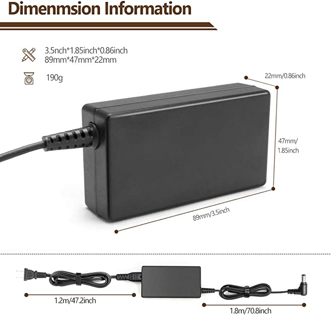 NP8540, NP8740 Wireless Speaker Charger Power Supply T-Power Ac Adapter Compatible with LG XBOOM Go PK7 /& LG Electronics Music Flow H5 H7