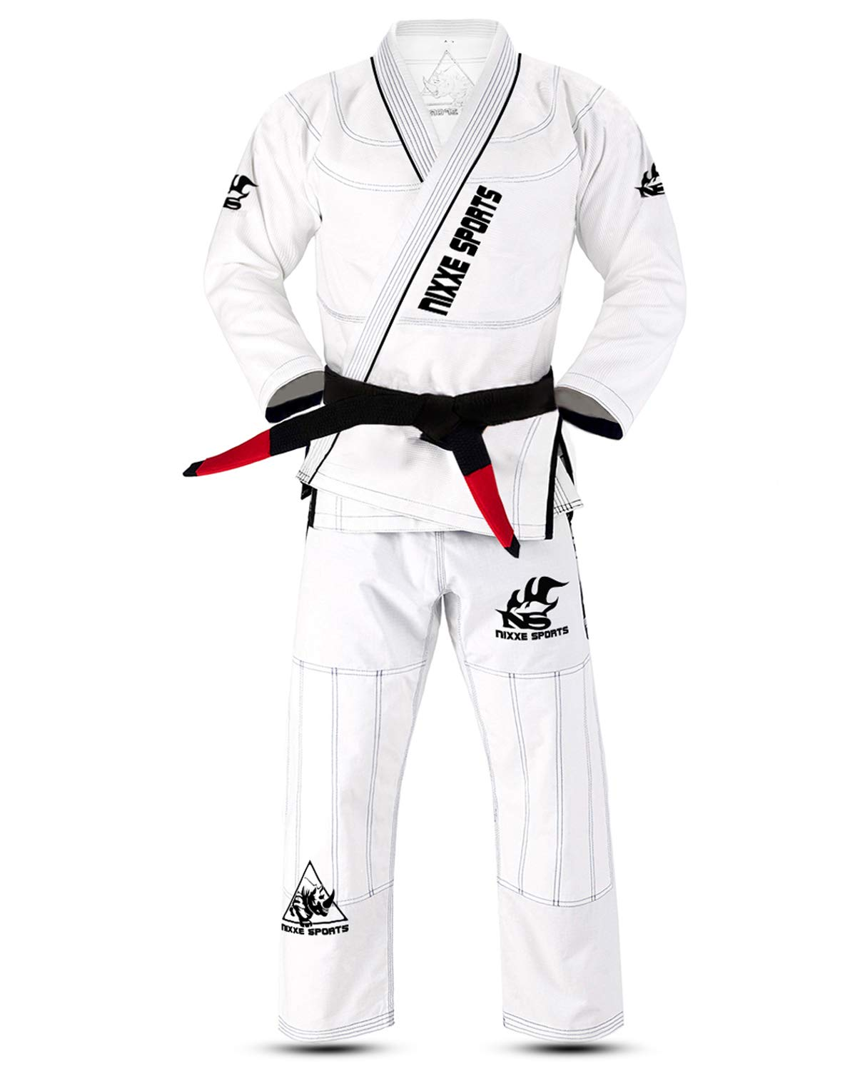 Nixxe Sports BJJ BJJ Brazilian Sports Jiu Jitsu WHITE Adult GI - White A1 WHITE B07QK367WT, 住吉区:220f9d93 --- capela.dominiotemporario.com