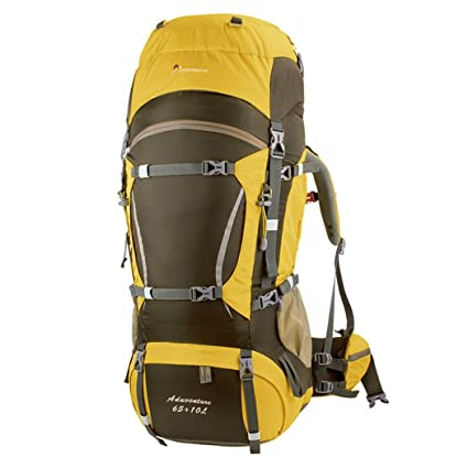 Image Unavailable. Image not available for. Color  Mountaintop 65L+10L Internal  Frame Hiking Backpack for Outdoor Hiking Travel Climbing Camping ... 52e1f99b7abe8