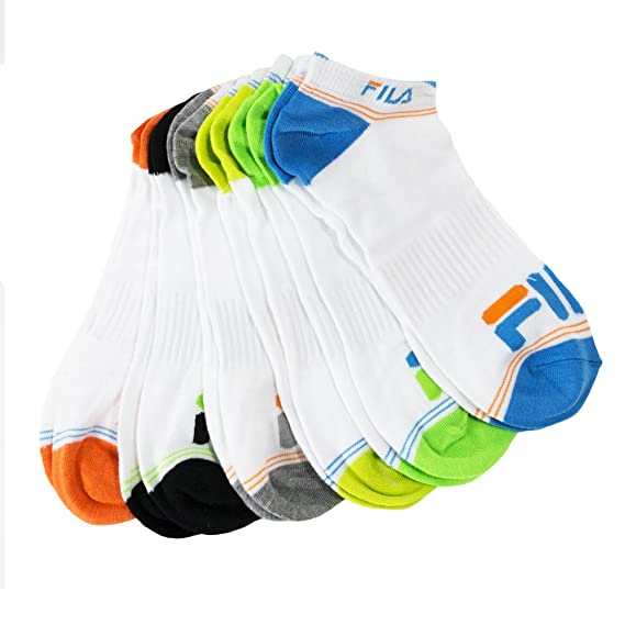 6 pares: fila golpes seco corte bajo Athletic Calcetines – Hombre, Mujer & Infantil