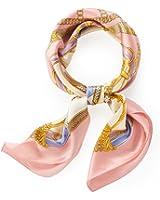 (エイサス) Asa's スカーフ シルク 大判 正方形 ストール 絹
