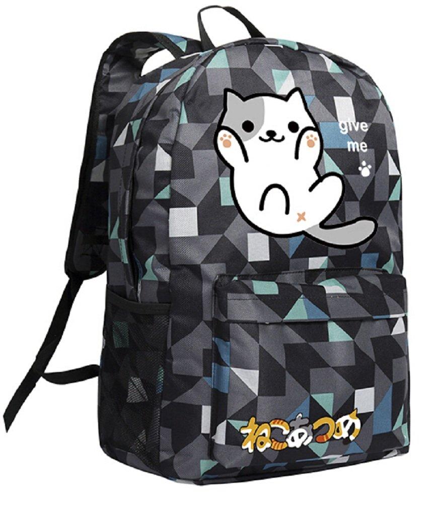 YOYOSHome ® Neko Atsumeアニメ猫裏庭コスプレDaypackバックパックスクールバッグ   B01H87CITS