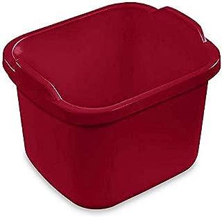product image for Sterilite 6475808 12 Quart Dishpan, Qt, Classic Red