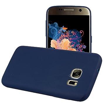 Yunbaozi Funda Compatible para Samsung Galaxy S7 Edge Protective Case Carcasa Caucho Funda Protectora de Silicona Caramelo Ultra Suave Flexible ...