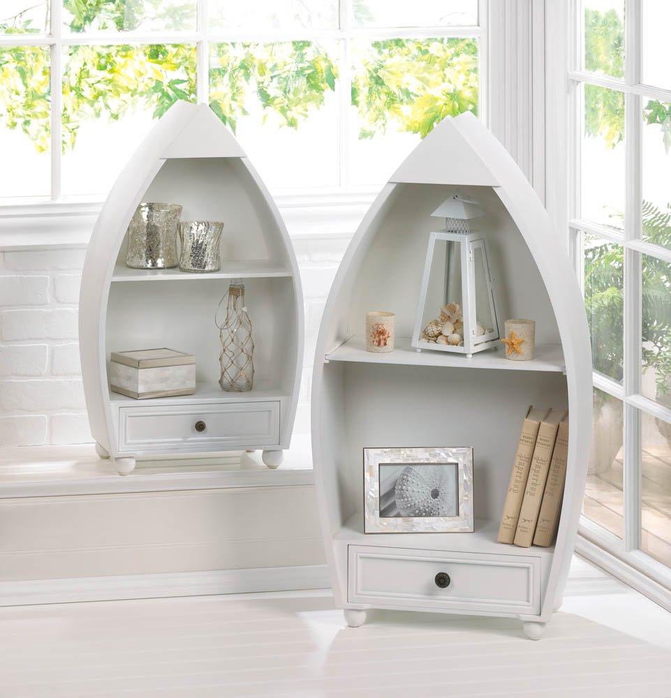 Smart Living Company Rowboat Curio Cabinets Tom & Co. 10016137