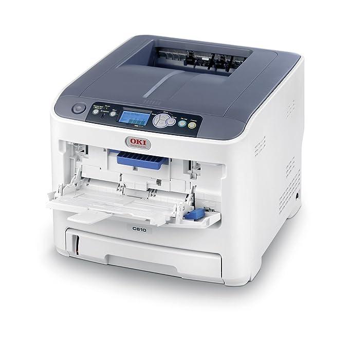 OKI C610N - Impresora láser, 36 ppm, A4: Amazon.es: Electrónica