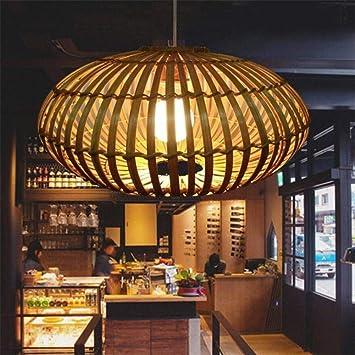 Congshua Linterna Lámpara Colgante Luz de Techo Industrial ...
