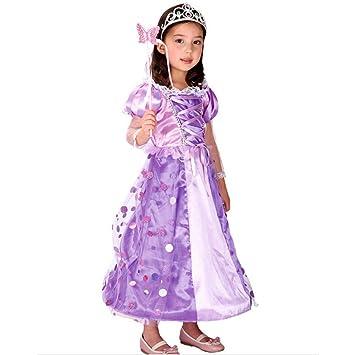 Iikids Karnevalskostume Kostum Kinder Madchen Schneewittchen Kostum