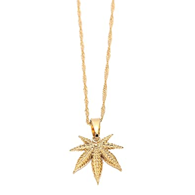 18k small cute hip hop gold plated men fashion plant cannabis weed 18k small cute hip hop gold plated men fashion plant cannabis weed marijuana leaf pendant necklace aloadofball Image collections
