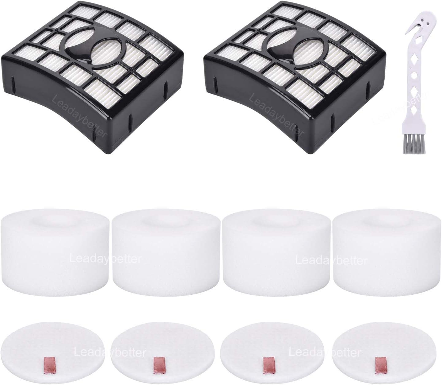 2+2 HEPA Foam Filter for Shark Rotator NV680 NV681 NV682 NV683 NV801 Vacuum