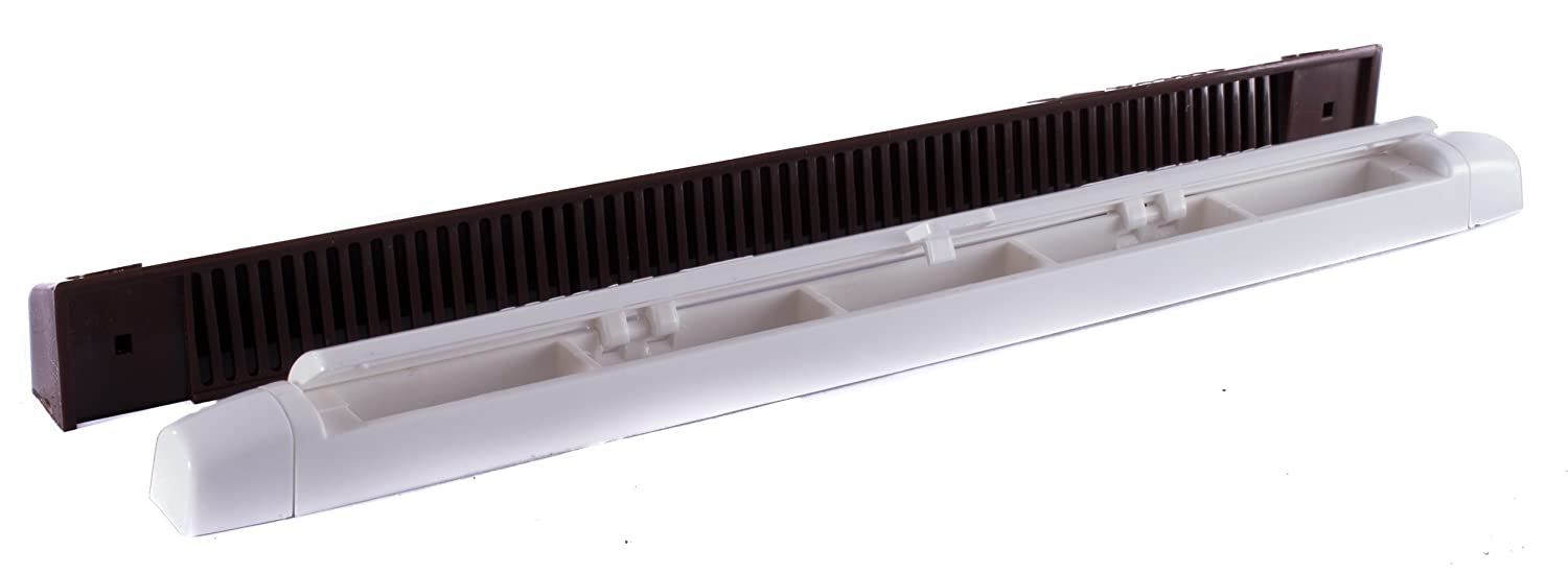 Quality Window Vents 265mm Brown & White CHLO PRODUCTS