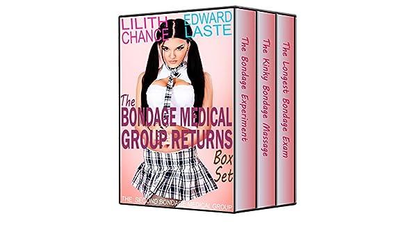In medical bondage Girl