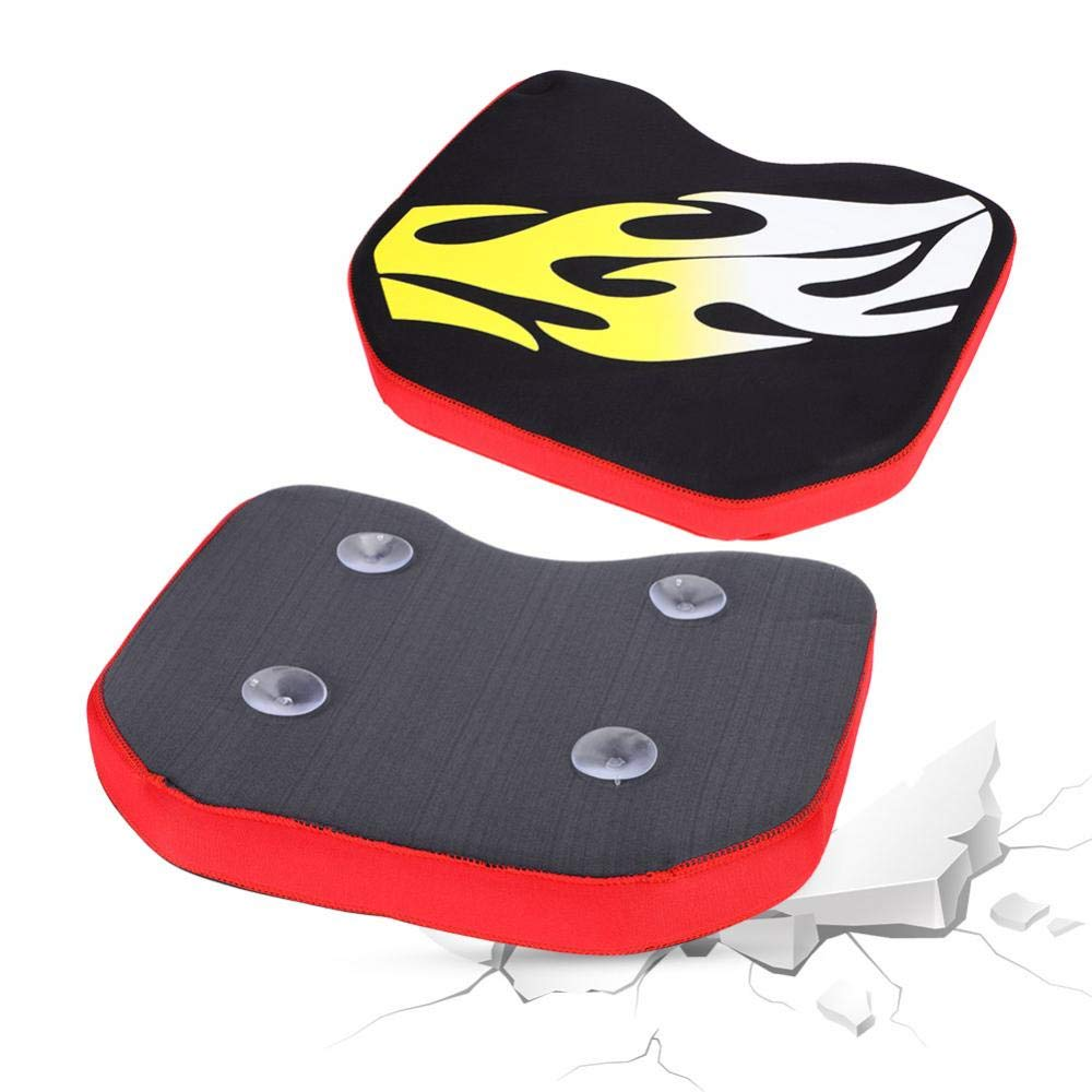 Skin-Friendly Boat Seat Cushion Good Stability Cushion with Suction Cup Washable Breathable Sports Cushion
