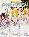Best Jane Austen Literature Books - Jane Austen Coloring Book (Manga Classics) Review