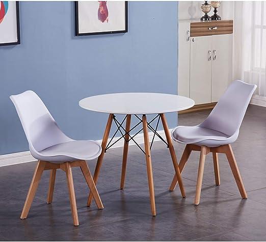 GOLDFAN - Mesa de Comedor y 2 sillas de Cocina, Juego de Mesa ...