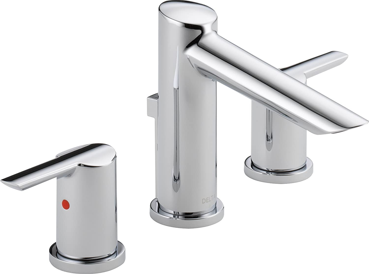 Delta Faucet 3561 MPU DST Compel Widespread Bath Faucet With Metal Pop Up,  Chrome   Bathtub Faucets   Amazon.com