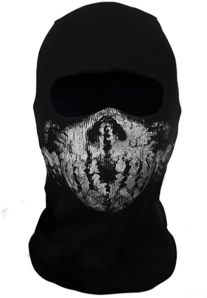 Ghost Balaclava Mask