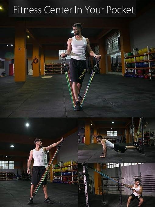 YOMI Bandas Elasticas Fitness,Conjunto De Bandas De ...