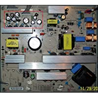 Repair Kit, LG 37LC7D, LCD Monitor, Capacitors, Not the Entire Board