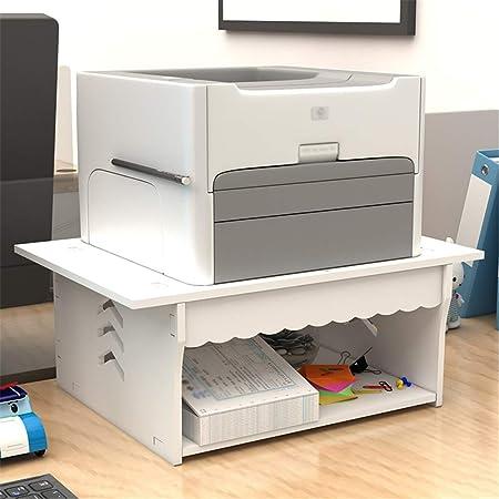 Base de la impresora Impresora estante doble capa de una ...