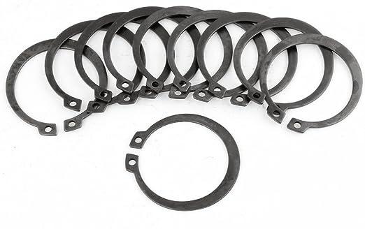 47mm Spring Steel Internal Retaining Rings 10Pcs