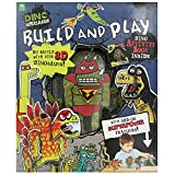 Dino Supersaurus: Build and Play - Includes Supercharged Dino Supersaurus Activity Book and 5 3D Dinos for You to Create!