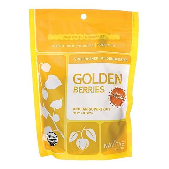 Navitas Naturals - Golden Berries (grosellas) certificadas orgánicas - 8 oz.
