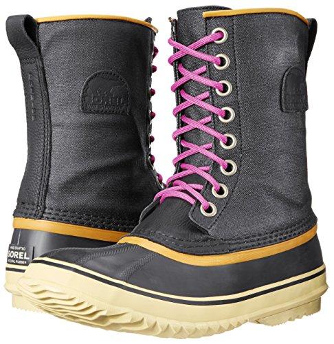 Womens Sorel Black Boots Cvs Premium 1964 WpS7rpt