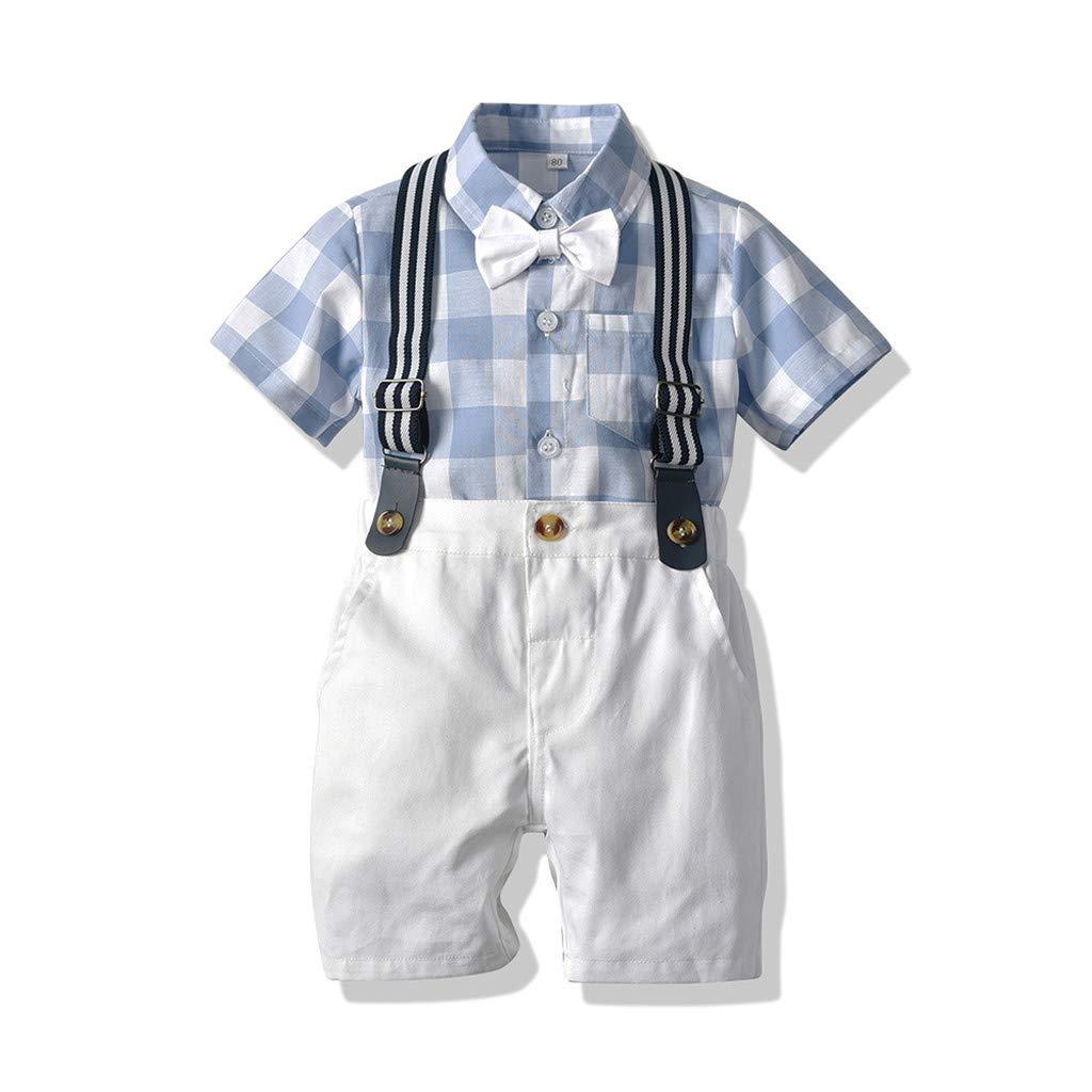 Amazon.com: Conjunto de pantalones cortos para bebés de 0 a ...