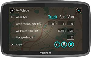 TomTom Trucker 620 6-Inch Gps Navigation Device for Trucks with Wi-Fi Connectivity, Smartphone Services, Real Time Traffic And Maps of North America