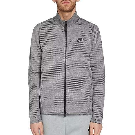 Nike Men s Sportswear Tech Fleece Jacket GX 1.0 886172 091 694 at Amazon  Men s Clothing store  fb851e810