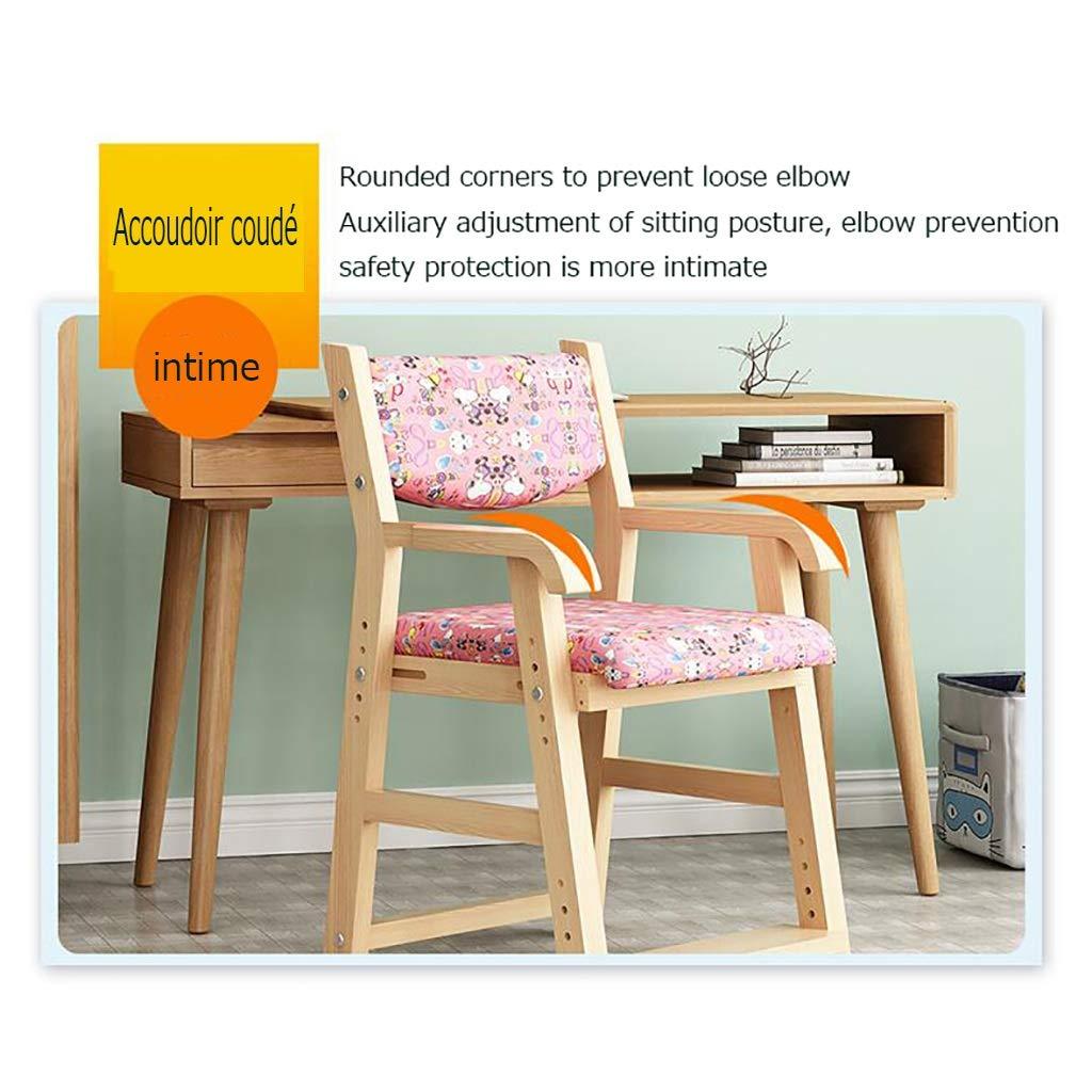 ZWJLIZI Studiestol, justerbar stol i hemmet, hållning korrigeringsstol/dator skrivstol (färg: E) M