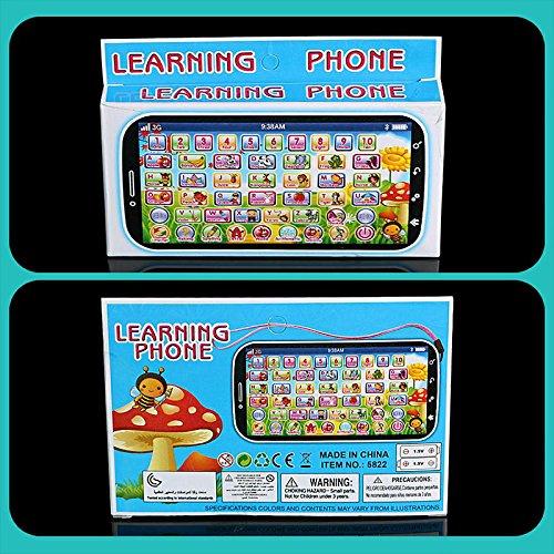 Rosepoem Rosepoem Rosepoem  s Apprentissage automatique Jouets de téléphone éducatifs Clignotant Reconnaissance vocale Musique Multi Purpose Cadeaux de développeHommes t | Technologies De Pointe  6402db