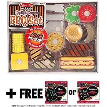 Amazon Com Powertrc Bbq Grill Playset Toy For Kids Toys
