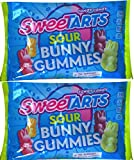 Sweetarts Easter Candy Sour Bunny Gummies (Pack of 2 )
