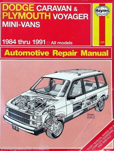 (1984-1991 Haynes Repair Manual - Dodge/Plymouth)