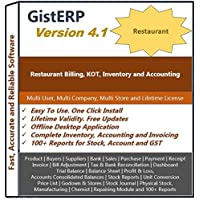 Restaurant Billing, Inventory and Accounting Software