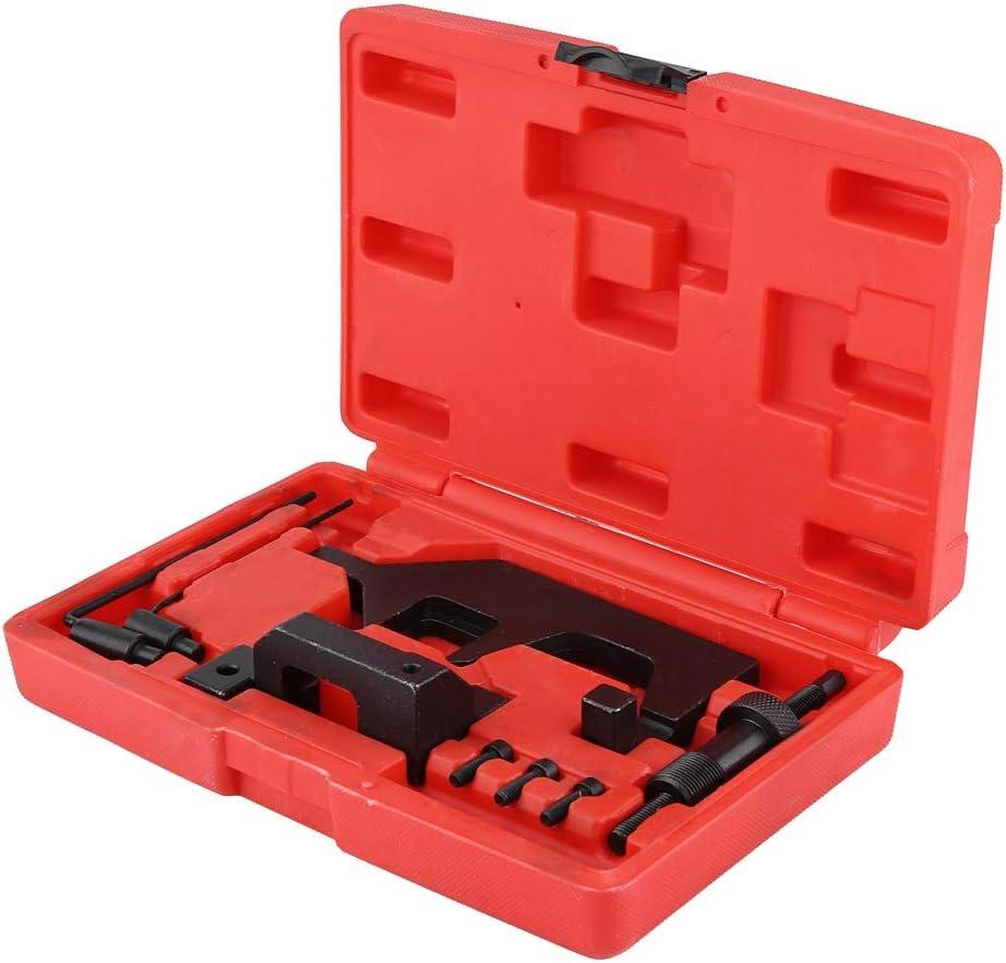 Carbon Steel Timing Tool Kit Set for BMW N13 N16 N18 1.6L Qiilu Engine Camshaft Timing Tool